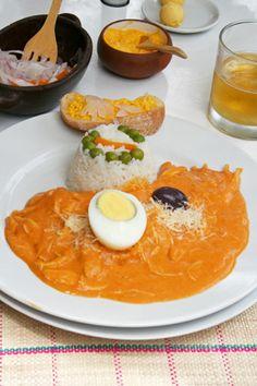aji de gallina - the ultimate Andean comfort food!