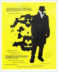 WATCHMEN - Rorschach Original Poster Art Print