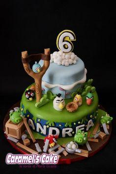 Angry birds Cake!