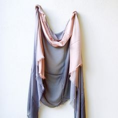 sheer ombre cashmere & silk scarf – Rough & Tumble