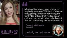 Cassandra Fairbanks and William Craddick - - Online Vigil for Julian Assange, June 2018 Quick Quotes, 6 Years, Unity, The Voice, To My Daughter, Acting, Politics, The Unit, Political Books