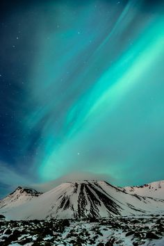 Turquoise Sky (Bláfjöll by Ragnar Magnusson)