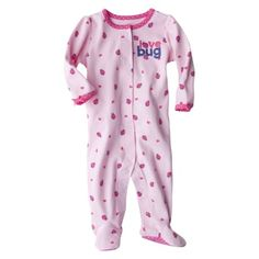 Just One You Made by Carters Newborn Girls Interlock Sleep N Play