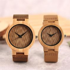 29705315f11 Watches Couple Bamboo Great Gift For You and For You Love