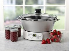 Ball® FreshTECH Automatic Jam and Jelly Maker. Makes fresh jam and jelly in under 30 minutes with the push of a button!