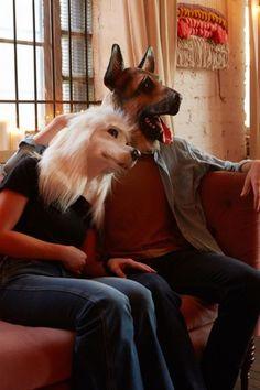 German Shepherd Mask - Urban Outfitters