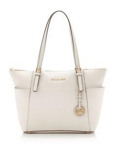 MICHAEL Michael Kors  Jet Set Top-Zip Saffiano Tote. I got this BEAUTIFUL bag for Christmas...but in blackkkk :)