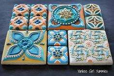 Cookie tiles. Yankee Girl Yummies