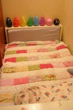 my little girl quilt תהל טלאים