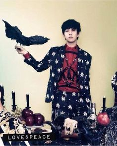Park Kyung's 'Devil's Holiday' with 'CeCi'! Block B Park Kyung, B Bomb, Kpop Guys, I Cant Even, Korean Music, Korean Celebrities, Kawaii Fashion, Minhyuk, To My Future Husband