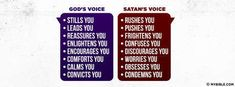 God's Voice/Satan's Voice - Facebook Cover Photo