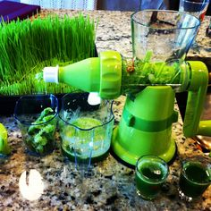 The Wheat Grass Miracle