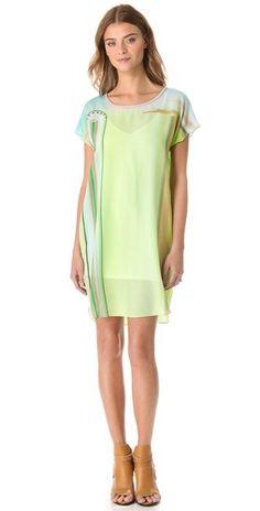 Jonathan Simkhai Cocoon Ferris Dress | SHOPBOP