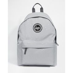 e7675d246a84 Hype Speckled Backpack in Gray (185 PEN) ❤ liked on Polyvore featuring bags