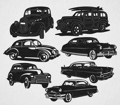 Cars Classic #DXF #ready #CNC #laser #files #plasma #machines #waterjet #cam #Cut $0.00