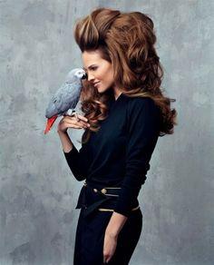 Hilary Swank Voluminous Avant-Garde Photoshoot