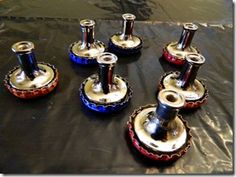 awesome idea to make soda cap knobs from it all started with paint.