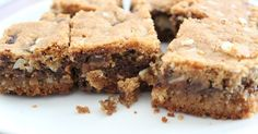Chocolate Chip Almond Cookie Bars