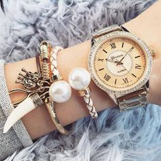 Stylish watches with bracelets http://www.justtrendygirls.com/stylish-watches-with-bracelets/