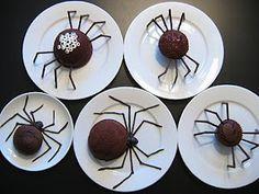 Brigadeiro aranha.