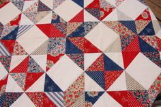 Quilts of Valor Patterns Moda | These are the fabrics we used to make our beautiful quilt top!