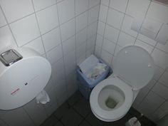 Damentoilette im Outdoor-Geschäft Globetrotter