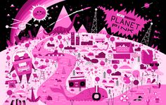 Planet Pink (Pink Version) for TekSavvy, Andrew Kolb