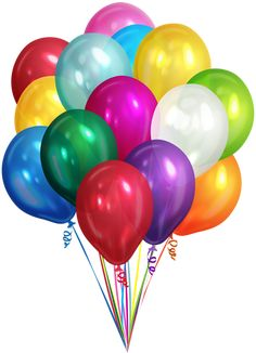 Bunch of Balloons Transparent Clip Art PNG Image Happy Birthday Png, Happy Birthday Wallpaper, Happy Birthday Messages, Birthday Cards, Colourful Balloons, Blue Balloons, Baby Dolls For Kids, Birthday Wishes And Images, Birthday Frames