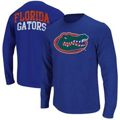 Buy Florida Gators Touchdown Long Sleeve T-Shirt - Royal Blue from the Official Store of the University of Florida Gators. Gators fans buy Florida Gators Touchdown Long Sleeve T-Shirt - Royal Blue. Florida Gators T Shirt, University Of Florida, Royal Blue, Long Sleeve Shirts, Sweatshirts, Clothes, Shopping, Fashion, Outfits