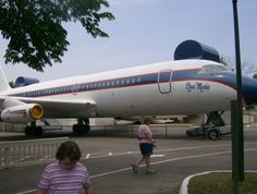 Elvis' personal jet named for his only child, Lisa Marie at Graceland Memphis