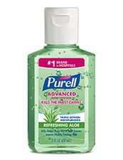 Purell Advanced Instant Hand Sanitizer With Aloe Hand Sanitizer