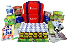 SafeGuard Deluxe - Four Person 72 hour Emergency Kit 72 Hour Emergency Kit, 72 Hour Kits, 72 Hours, Survival Kits, Aid Kit, First Aid, Survival Kit
