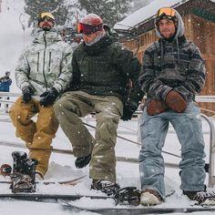 Don't just sit there, shop men's and women's snowboard pants in our bio link. Because even if you have time to chill, there's never time for sub-par pants. Snowboarding Quotes, Snowboarding Outfit, Snowboarding Resorts, Womens Snowboard Jacket, Snowboard Girl, Snowboard Cake, Snowboard Goggles, Snow Outfits For Women, Cousins