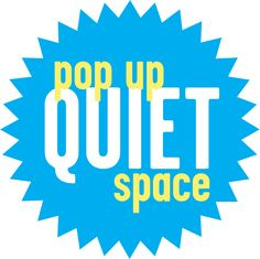 When we were planning our 'Knowing Our Customers' activities, our library staff thought it would be a really great idea to make some existing spaces into 'pop-up' quiet spaces.