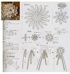 Luty Artes Crochet: Flores em crochê