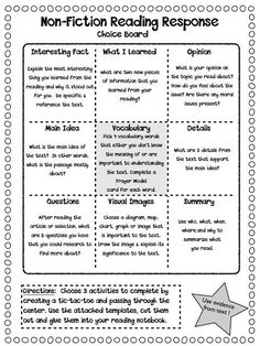 Cool idea for independent reading accountability. Maybe also do with comprehension strategies/text structures/narrative text elements.: