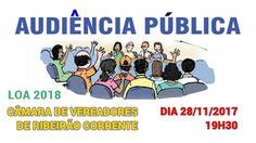 AUDIÊNCIA NA CÂMARA DE RC DEBATERÁ LEI ORÇAMENTÁRIA PARA 2018