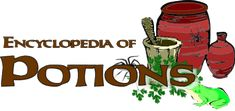 Encyclopedia of Potions - HP Lexicon Wiki Harry Potter, Harry Potter Potions, Theme Harry Potter, Harry Potter Facts, Harry Potter Birthday, Wiccan Spells, Magick, Harry Potter Potion Ingredients, Start The Party