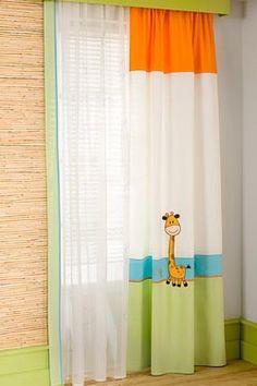 Παιδική κουρτίνα Ηλίου & Τούλι AKS-5167 & 5267
