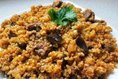 a cozinha mediæval: BULGAR PILAF COM GRÃO DE BICO