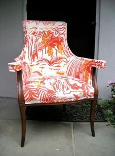 Here's a funky chair!