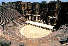 The Magnificent Roman Ampitheater, Bosra. Syria