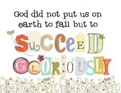Succeed Gloriously.  Elder Richard G. Scott.  The Church of Jesus Christ of Latter-Day Saints.