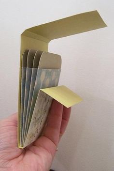 Library Pocket Mini Album Instructions, so easy