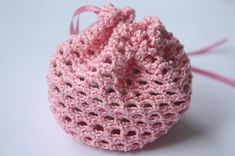 Amigurumi creations by Laura: Free Crochet Gift Bag Pattern to go with Bunny Brooch Pattern
