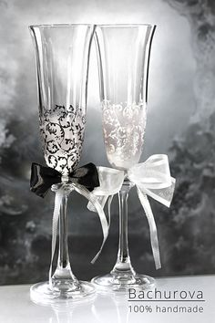 Svatební skleničky Flute, Champagne, Tableware, Dinnerware, Tablewares, Flutes, Dishes, Tin Whistle, Place Settings