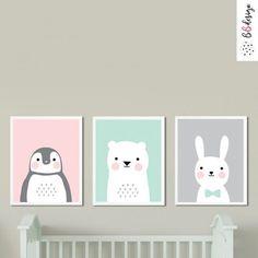 Pasztell hangulat babaszoba falikép szett Peek A Boos, Products, Gadget