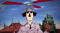 inspecteur kranjet by Crane, Anime, Fictional Characters, Art, Skull, Art Background, Kunst, Cartoon Movies, Anime Music