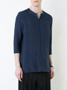12458e36 Neil Barrett Three-quarter Sleeve Shirt - ShopStyle Longsleeve | Three  Quarter Shirts | Pinterest | Neil barrett, Quarter sleeve and Third