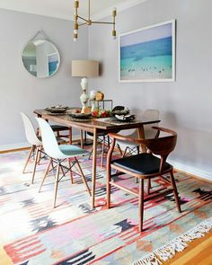 Hey all!!! How's our day going?  So today's #EsHappyList is a Q & A session and it's time to answer your questions.  First answer is to @tsaray who asked what's the ideal item to use as a focal point in the dining room.  ANS: Focusing on Wall treatments we would recommend one of the following;  1. Artwork  2. Collection of family pictures  3. Bold patterned wallpaper  4. Giant piece of artwork that steals the spotlight.  5. Paint strong interactive patterns on the wall.